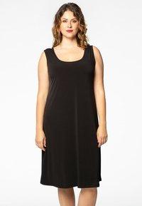Yoek - Jersey dress - black - 0