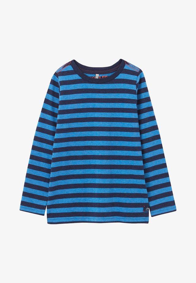 LONG SLEEVE - T-shirt à manches longues - blaumeliert