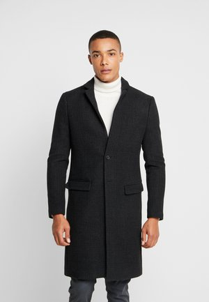 BURGE COAT - Classic coat - black/charcoal