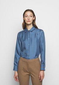 WEEKEND MaxMara - VADIER - Button-down blouse - azurblau - 0