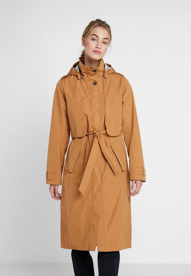 LOVA WOMEN'S COAT - Regnjakke - almond brown