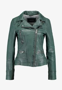 Oakwood - Leather jacket - bronze - 4