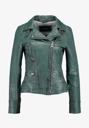 VIDEO - Leather jacket - bronze