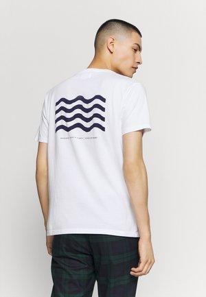 WAVE - T-Shirt print - bright white