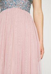 Lace & Beads - AMIRA MIDI - Cocktail dress / Party dress - blue/pink - 5