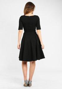 Collectif - TRIXIE - Day dress - black - 2