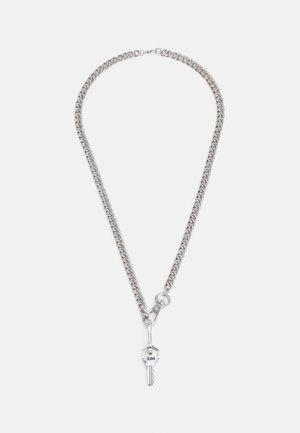 FIXTURE HOOK CLASP NECKLACE - Necklace - silver-coloured