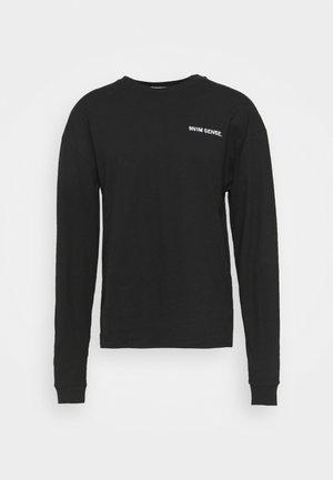 LOGO LONGSLEEVE UNISEX - T-shirt à manches longues - black