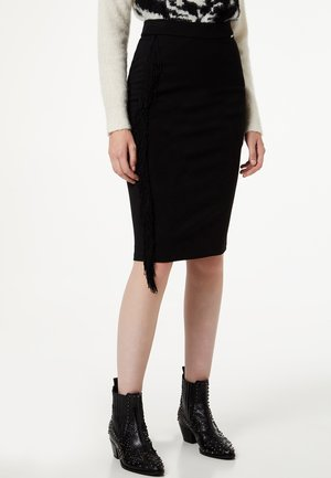 LIU JO JEANS - A-line skirt - black