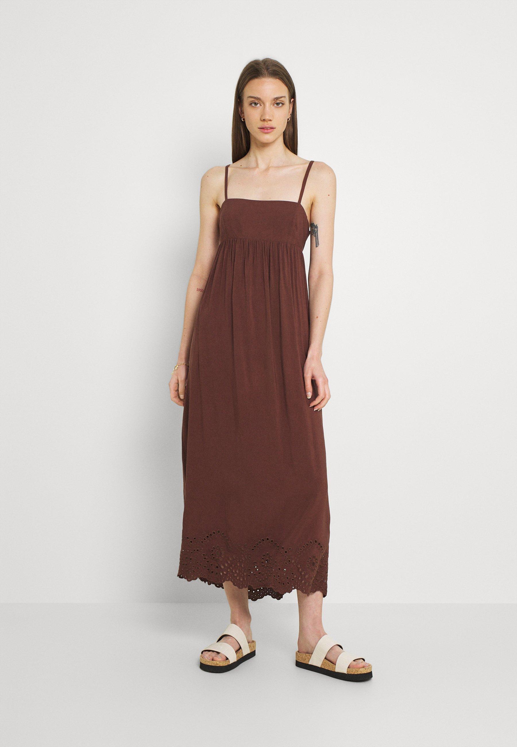 Women SPENCER CUTWORK HOUSE DRESS - Day dress
