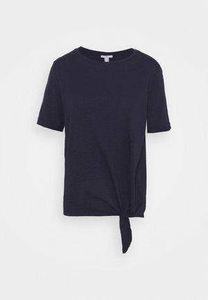TIE TEE - Camiseta estampada - navy