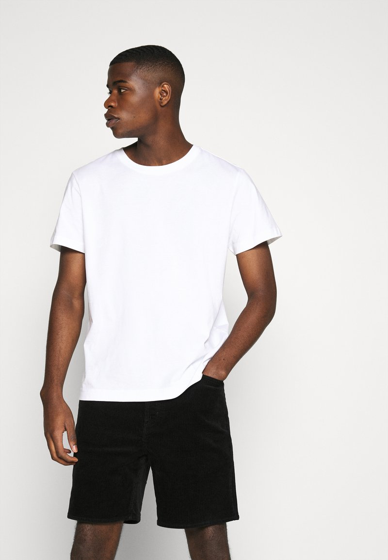 Weekday - RELAXED  - Basic T-shirt - white
