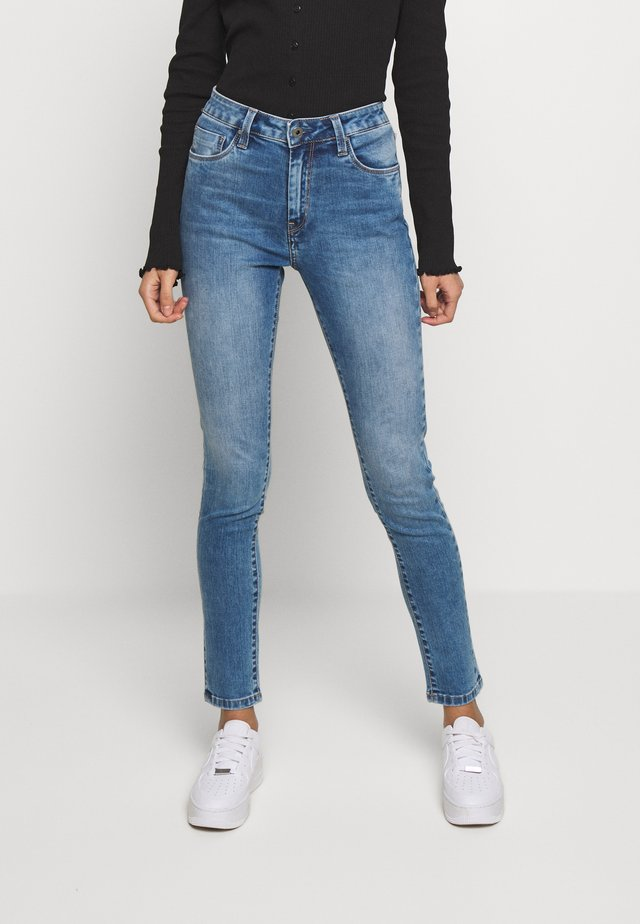 Jeansy Skinny Fit - light-blue denim