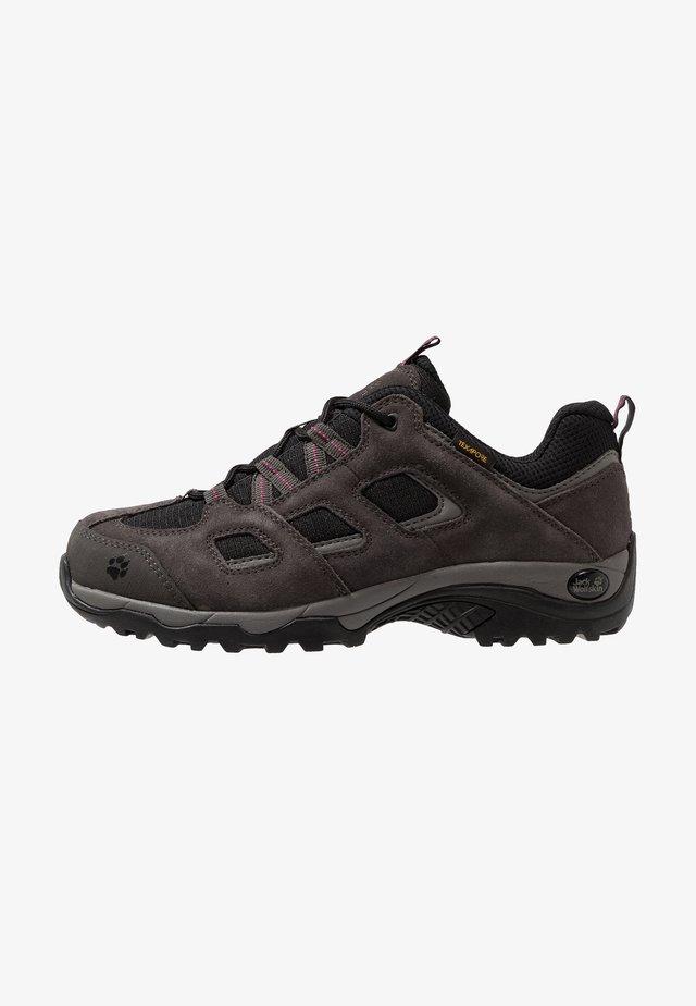 VOJO HIKE 2 TEXAPORE LOW - Hiking shoes - dark steel/black