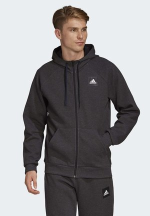 MUST HAVES STADIUM HOODIE - Zip-up hoodie - black