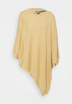 EMBROIDERY PONCHO - Cape - golden rock