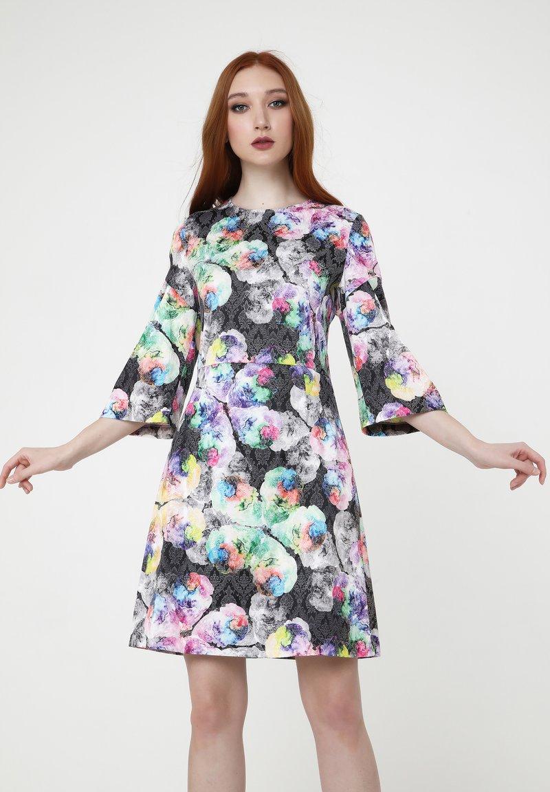 Madam-T - Cocktail dress / Party dress - anthrazit, flieder