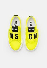 MSGM - Trainers - neon yellow - 3