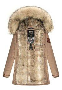 Navahoo - Winter coat - taupe grey - 2