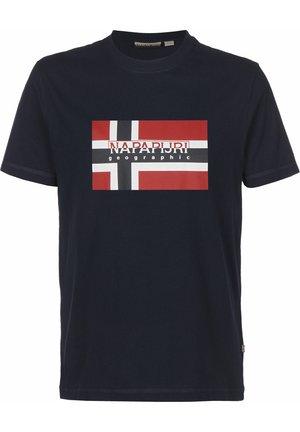 T-SHIRT SOVICO - T-Shirt print - blu marine