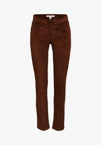 Esprit - FASHION  - Trousers - brown - 8