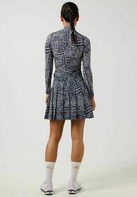 J.LINDEBERG - Sports skirt - jl navy croco - 2