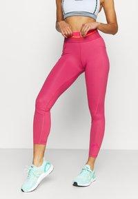 adidas Performance - Tights - wild pink - 0