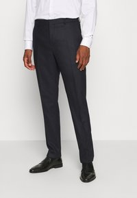 Calvin Klein Tailored - SOFT BLEND STRUCTURE SUIT - Oblek - blue - 4