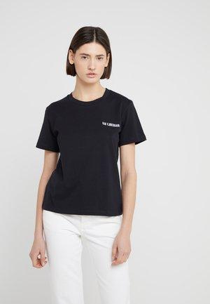 CASUAL TEE - Basic T-shirt - black