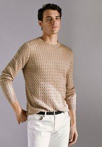 Massimo Dutti - Sweater - nude - 5