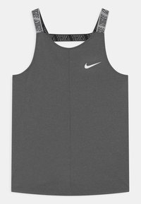 Nike Performance - ELASTIKA - Sports shirt - black heather - 0