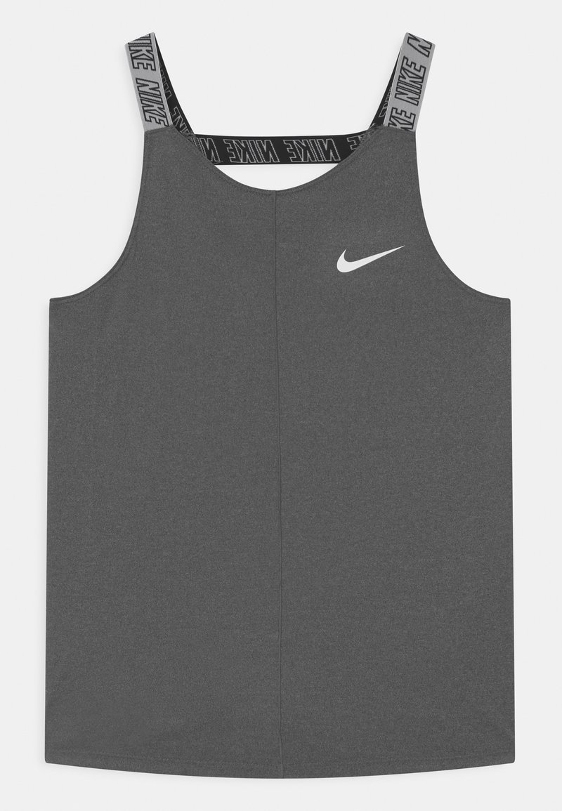 Nike Performance - ELASTIKA - Sports shirt - black heather
