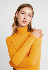Even&Odd - Long sleeved top - dark yellow - 3