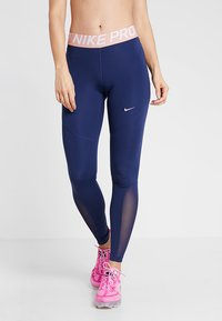 Nike Performance - Leggings - midnight navy/red bronze - 0