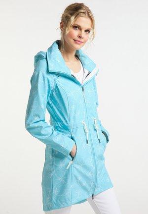 Waterproof jacket - light blue