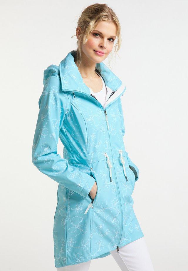 Regenjacke / wasserabweisende Jacke - light blue