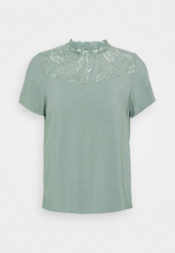 ONLY Petite ONLFIRST TOP - Bluzka - chinois green/zielony ROAY