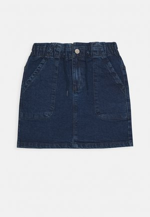 TEENAGER - Denim skirt - dark blue denim