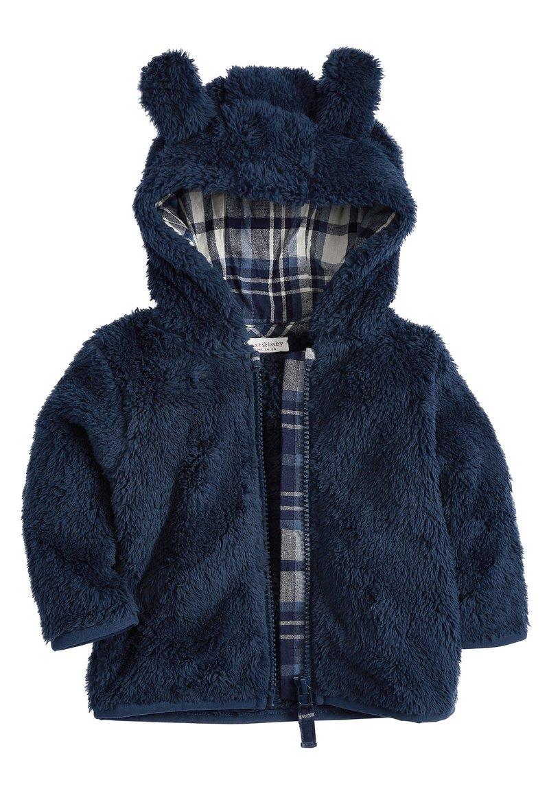 Next - OATMEAL - Kurtka z polaru - blue
