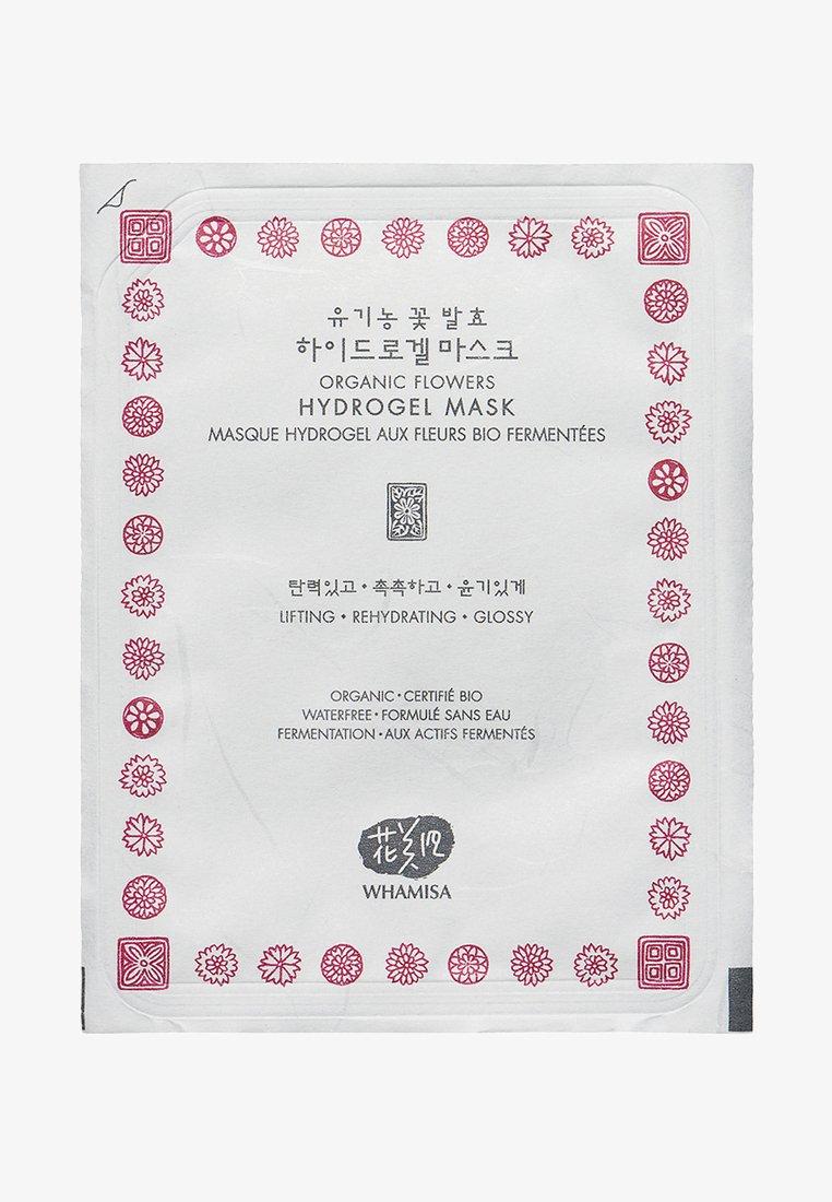 Whamisa - HYDROGEL FLOWERS MASK - Face mask - -