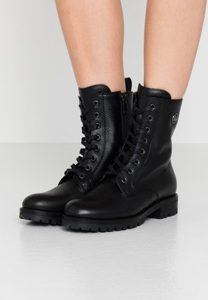 NEW MERIBEL  - Lace-up ankle boots - black