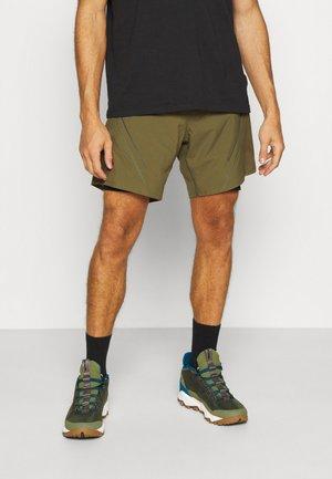 ALPINE PRO SHORTS - Sports shorts - winter moss