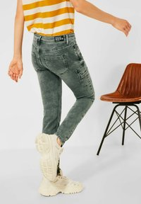 Street One - Slim fit jeans - grün - 2
