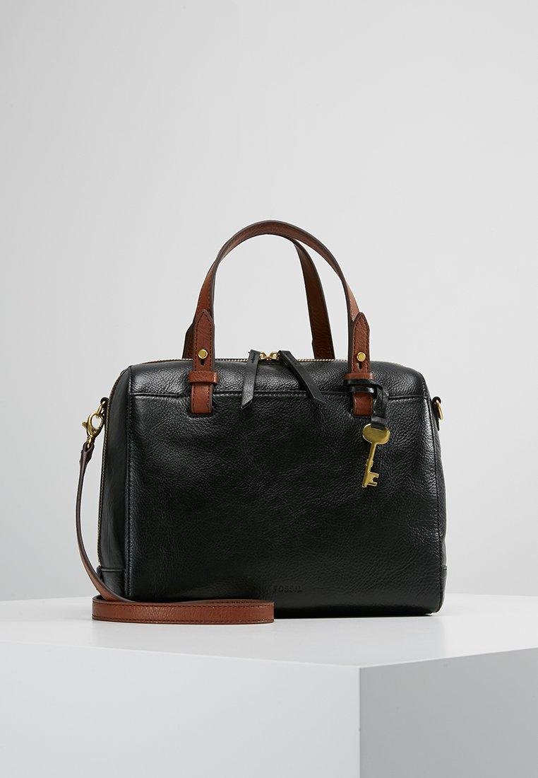 Fossil - RACHEL SATCHEL - Handtasche - black