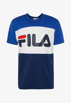 DAY TEE - Print T-shirt - surf the web/black iris/bright white