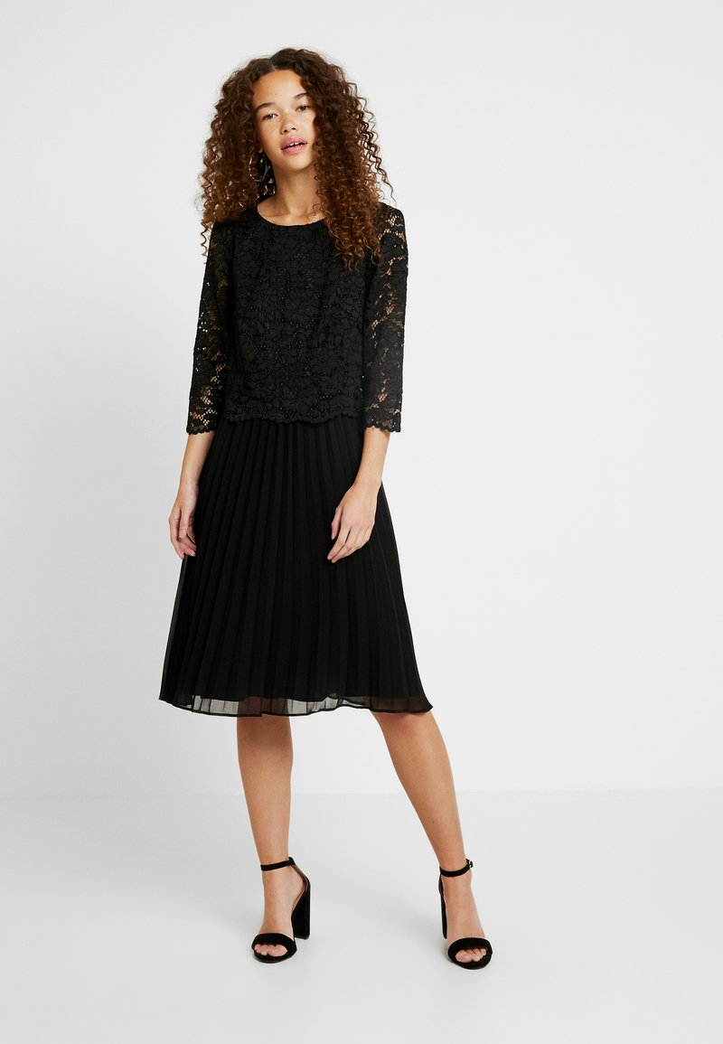 Esprit Collection Petite - CHRISTINA - Juhlamekko - black