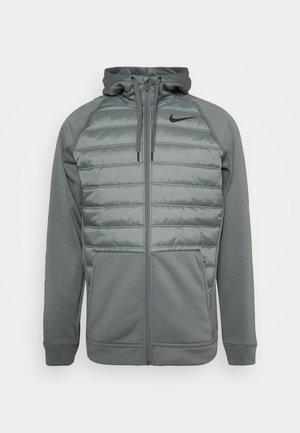 Veste de survêtement - smoke grey/smoke grey/black