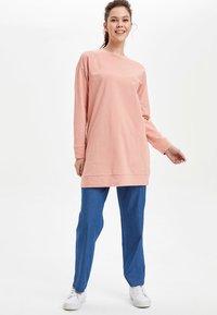 DeFacto - Trousers - blue - 1