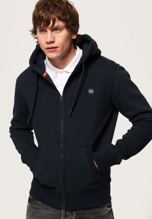 COLLECTIVE - Zip-up hoodie - navy blue
