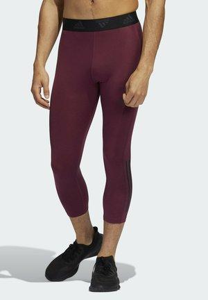 3/4 sports trousers - purple